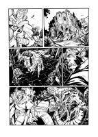 DRAGONERO - sample page ink by DenisM79