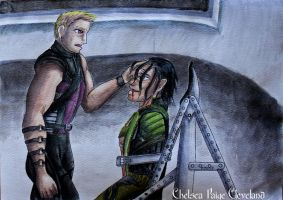 Clint and loki - Prisoner by Chelsea-C