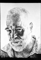 Philippe Seymour Hoffman INK PORTRAIT by GEBdesign