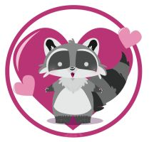 Raccoon by KeIdeo