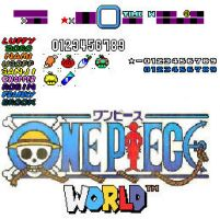 One Piece World Sample Sprites by Superjustinbros