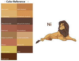 TLK Ni Color Reference by FeralHeartsFan