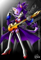 blaze the cat +rockstar 2+ by ArchiveN