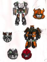 Autobots Colored by Jochimus
