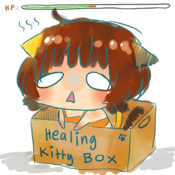 HEALING KITTY BOX by dattebanyan-I