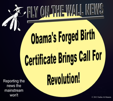Obama's Forged Birth Certificate Sparks Outrage! by IAmTheUnison