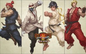 Street Fighter 3 OE Wallpaper by Toshiharu