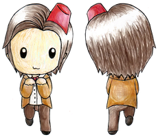 Chibi Doctor Bookmark by infinitize