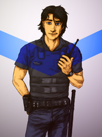 Officer Grayson by Night-of-Void