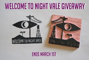 Welcome to Night Vale Stamp GIVEAWAY! Ends March 1 by Littel-Gerll
