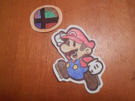 Characters I want in SSB4: Number 3: Paper Mario by solidsnivy97
