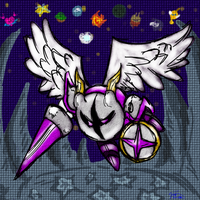 Kirby - Galacta Knight by Minon