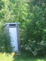 Little Outhouse by Tari-Stock