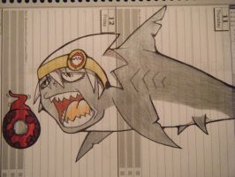 Soul Evans Sharky by LugiaUmbreonPower