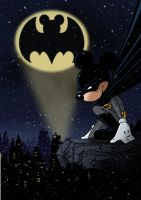 batmickey by yoanndurand