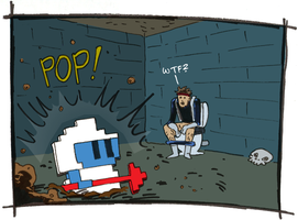 Strip Jam: Snake meets Dig Dug by ScottEwen
