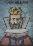 Robin Williams, the King of Hyrule by Emma-in-candyland