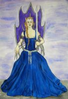 Queen Of Swords by Feagaer