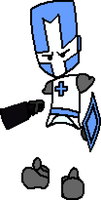 Kidincred Blue Knight by Kidincred