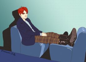 Gerard Way on VOGUE by pingguotou1119