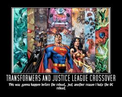 Transformers/Justice League Crossover by Mr-Wolfman-Thomas
