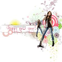 HNY 2010 by onlymileyperfect