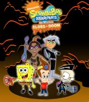 nicktoons globs of doom concept charater all heros by sibred