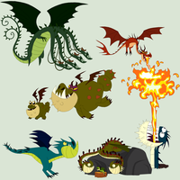 HTTYD Base 72~Dragon Mix 3~ by Xbox-DS-Gameboy