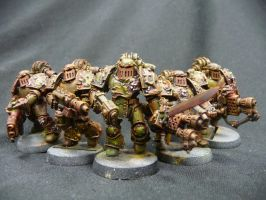 Havoc marines of nurgle by Solav