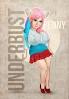 Penny Underbust chibi by redfill