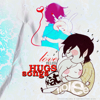 Love filled Hugs and Songs by spazzgalore