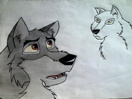 Balto by ArticWolf14