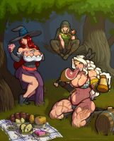 Dragon's crown picnic (with video) by LucidARTDVC