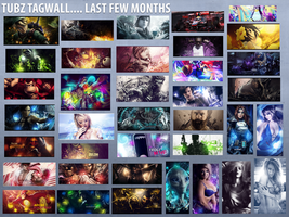 Tagwall... the last few months by TubZGN