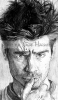 Colin Farrell by JunebugHardee