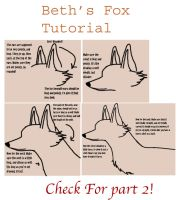 Fox Drawing Tutorial Part 1 by MariahThefox