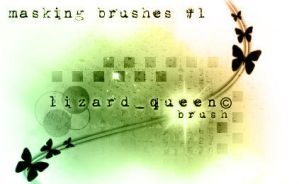 Masking Brushes 1 by lizard--queen