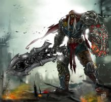 Darksiders Colored by GarroteFrancell