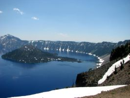 Crater Lake 6 by silent-scenes