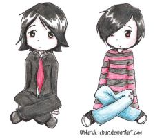 Gee + Frankie by Haruk-Chan