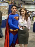 Superman and Lois Lane by mjac1971