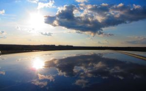 Civic Sky Top Reflections by jimmyselix