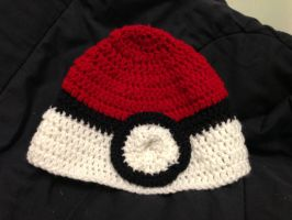 Pokeball Hat by CeltysShadow