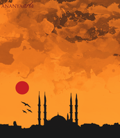 Istanbul by AnanyaArts