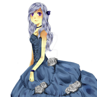 Blue Dress by kilari-chan
