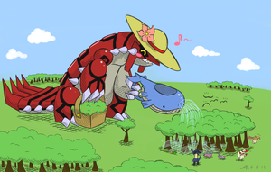 Gardener Groudon by LilArrin