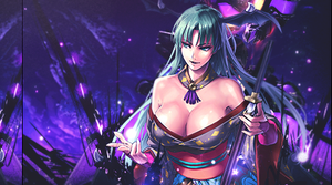Onimusha Morrigan Moon Version by Elpida-Wood