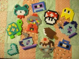 perler beads trial 2 by seadworp