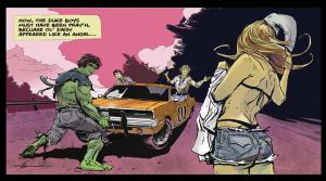 The Dukes of Hazzard vs The Hulk by rmendesjr