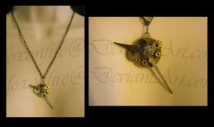 StP: Tick-Tock Necklace by foxonfire